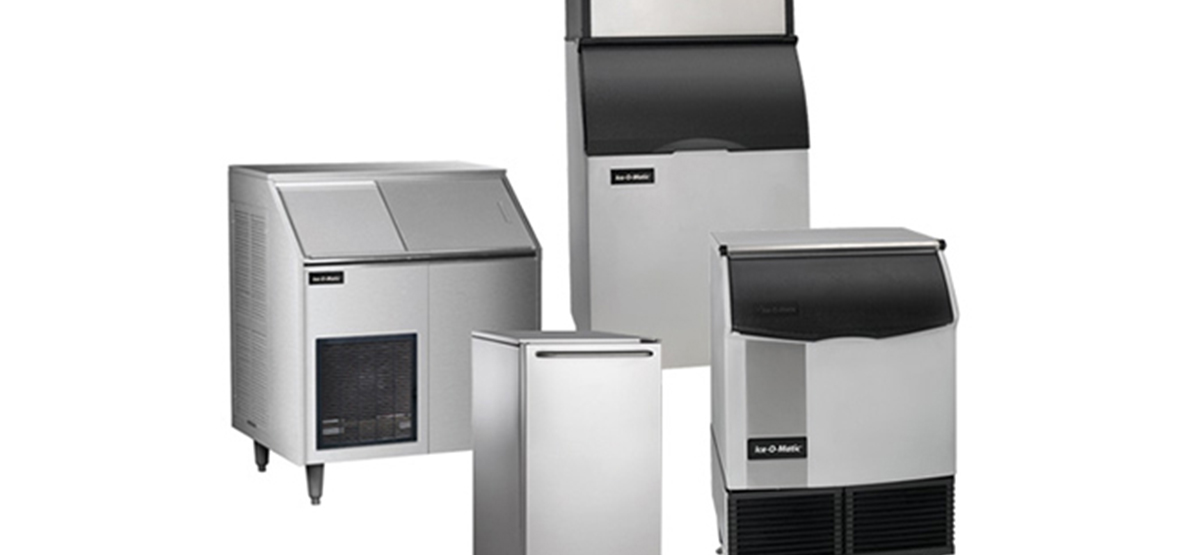 four different ice machines