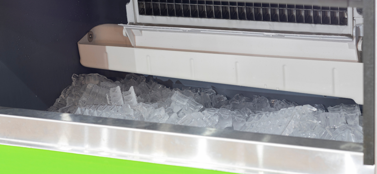 ice machine with preventative maintenance