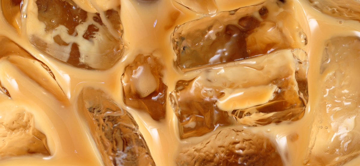 Iced Cofffe- close up