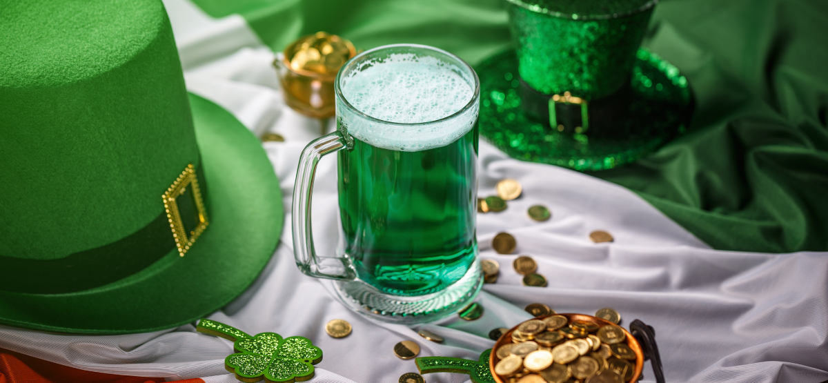 St. Patrick's Day Sweet Treats drinks