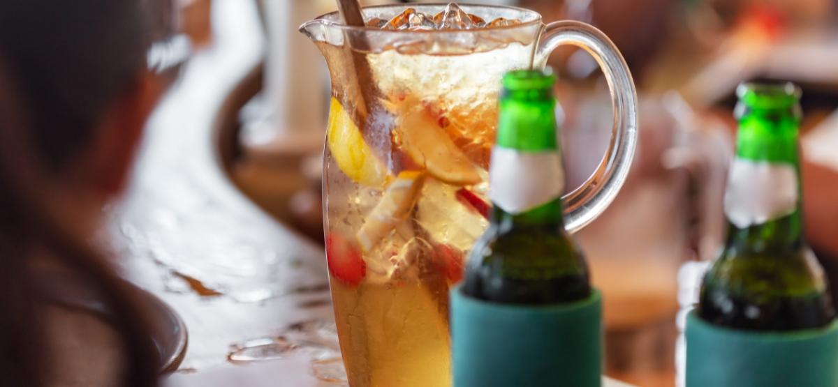 restaurant drinks